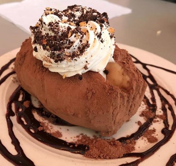Idaho – Chef Lou's Famous Idaho Ice Cream Potato from Westside Drive-In