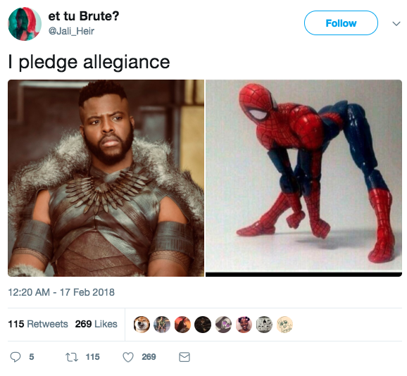 buzzfeed black panther quiz hook up