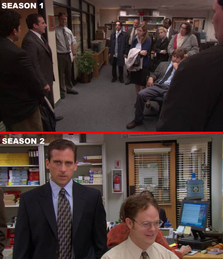 1 Season Of The Office Was Shot In A Real Building Culver City California 2 They Moved To Soundstage And Recreated Original