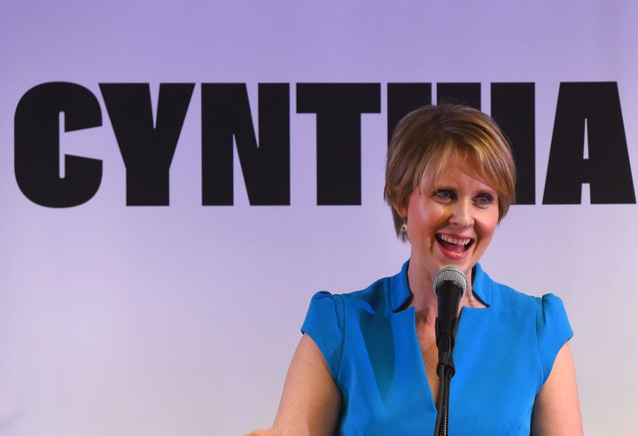 Cynthia Nixon Was Late To Her Governor Campaign Launch Because Of The Subway And Took Aim At Cuomo