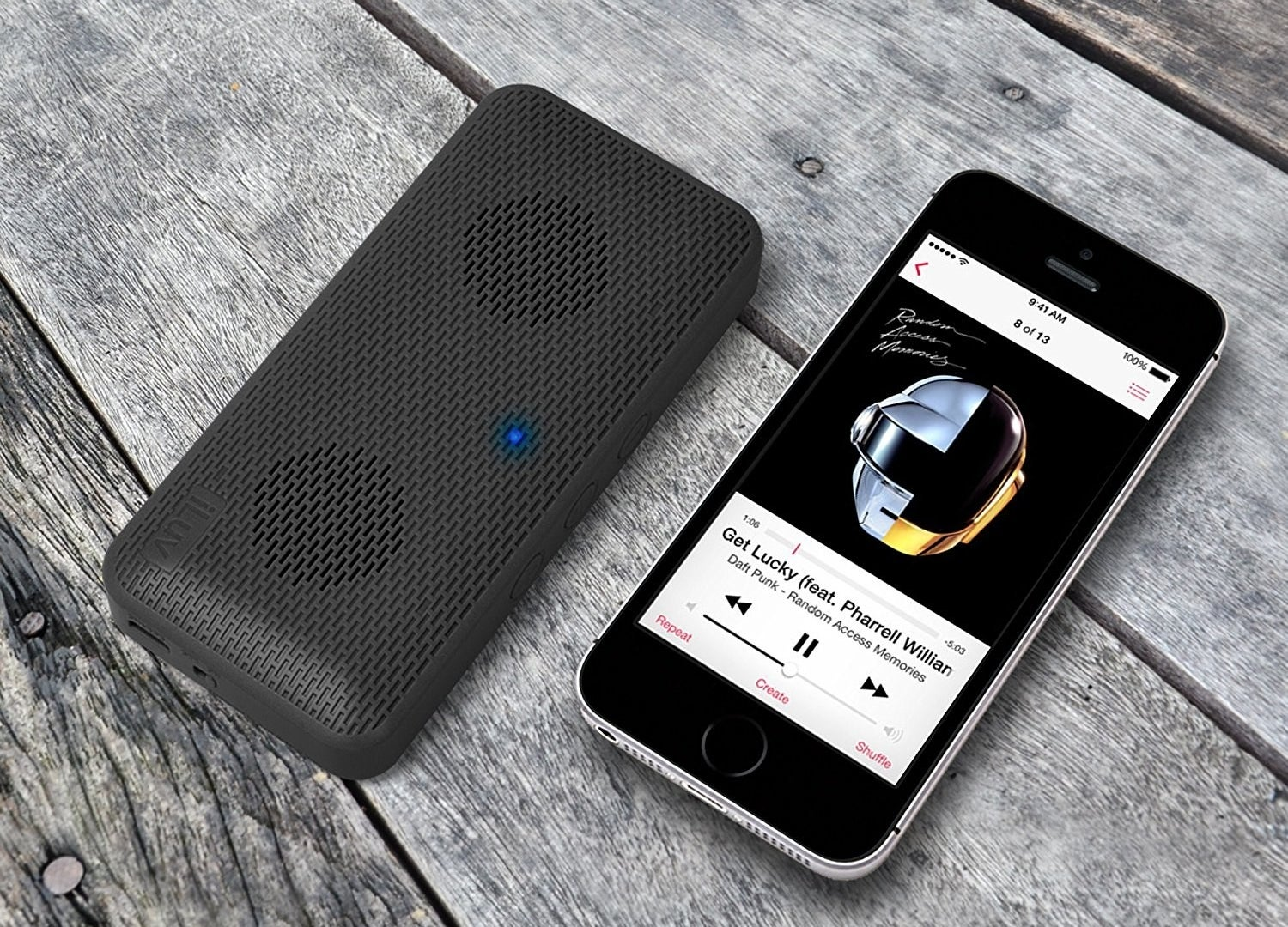 """It's compatible with most Bluetooth devices (including all iOS and Android devices) and can play streamed music from up to 30 feet away from your smartphone wirelessly!Promising review: """"I've had mine for about five months and it works like a charm. In fact, it seems like magic. The case actually feels empty. The sound quality and volume far exceeded expectations. It outperforms some larger and more expensive Bluetooth speakers."""" —Bill ReinehrGet it from Amazon for $9.96."""