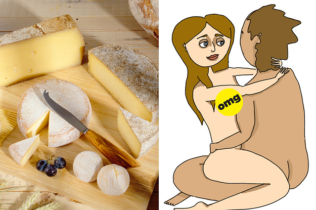 Tell Us Your Favorite Cheese, And We'll Guess Your Fave Sex Position