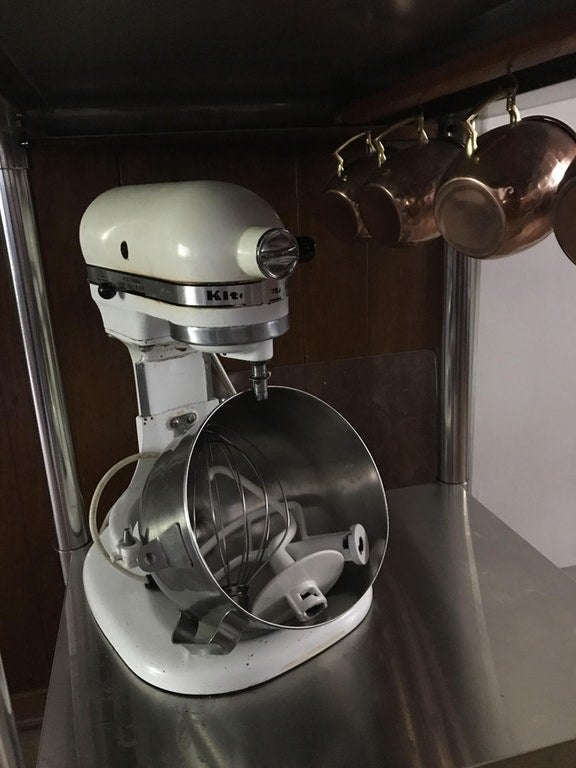 """Wedding present from my mother-in-law — 1978 KitchenAid mixer."" —BeetsbySashaGet it on amazon for $189.99."