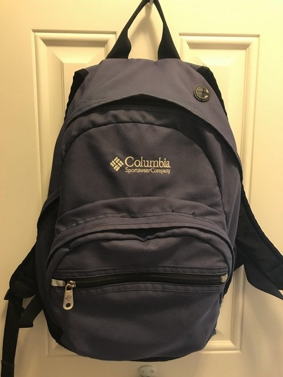 """Very durable Columbia backpack. Bought this 19+ years ago, has been everywhere with me as my sons have grown up, all zippers are still intact and operable, all seams still together, color has only slightly faded despite many trips to the beach. Total workhorse for us."" —BiffaramaGet a similar one on amazon for $46.87."