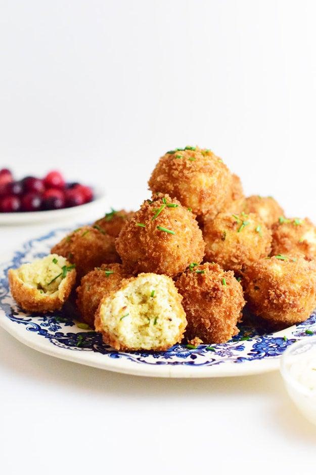 Deep Fried Matzoh Balls