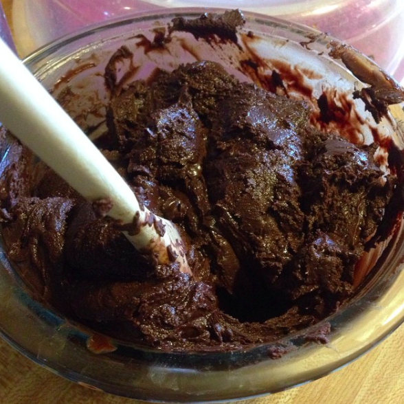 You don't make sure your bowl is completely dry before melting chocolate in it.