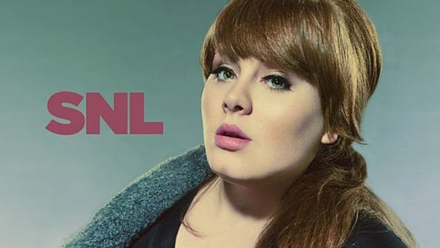 When Adele performed on Saturday Night Live in 2008, she mistook Sarah Palin for Tina Fey, and called her Tina to her face.