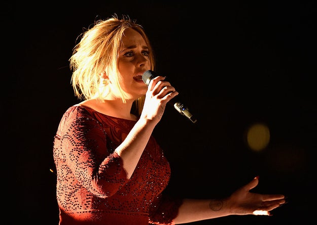 "This followed her performance at the Grammys in 2016, when a microphone fell onto the piano strings, making it sound out of tune. However, although she admitted to crying about it afterwards, Adele treated herself to a burger and a beer after the show, tweeting ""maybe it was worth it""."