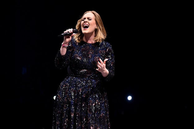 "Adele thinks she usually sounds pitchy when she sings, blaming it on emotion. While speaking to Ellen Degeneres, she said, ""I'm always a bit pitchy. When I'm flat and I'm sharp, I'm just emotional."""