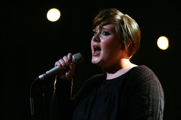 Adele was offered a recording contract the day after she graduated from The BRIT School. She signed the contract because the label already represented people she knew, but also because scout Nick Hugget made a good cup of tea and made her laugh.