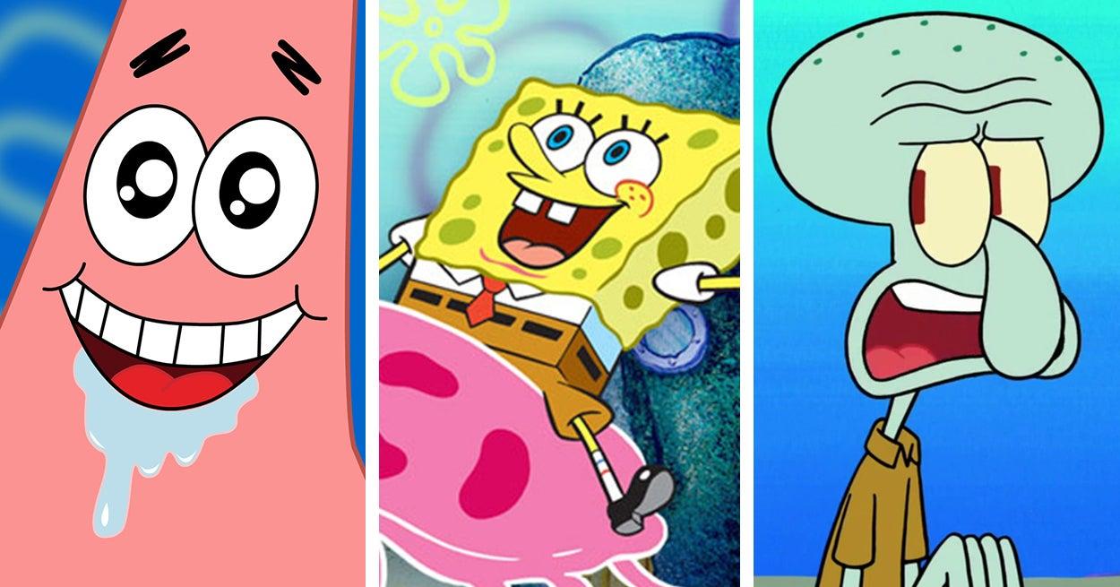Are You More Spongebob Patrick Or Squidward