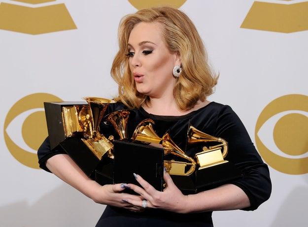 "Although 21 is based on a break-up, Adele was actually still with the guy when she began writing the album. When she wrote the first song, ""Take It All"", she played it to him and he left her a few weeks later."
