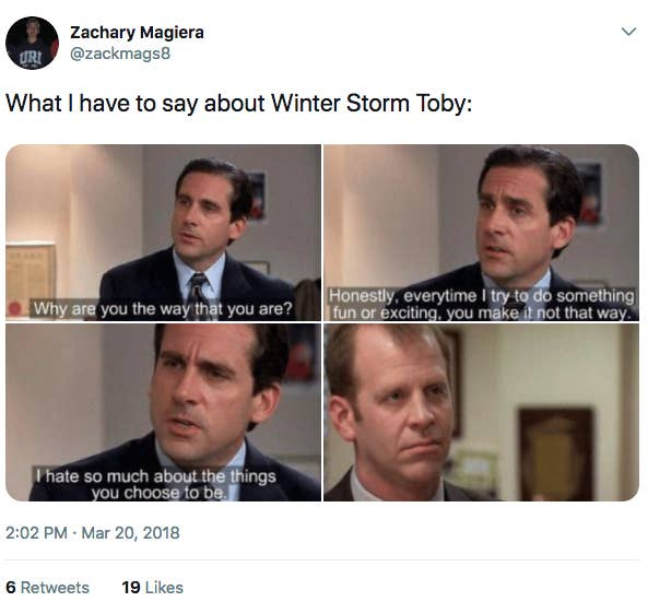 These Winter Storm Toby Memes Will Make You Laugh And Miss