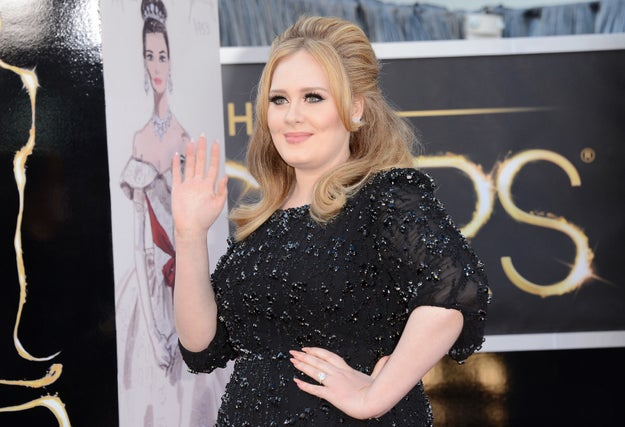 "While pregnant and in the early days after giving birth, Adele rented a ""mad house"" in the country and stopped going out in public because paparazzi began hiding out and following her around. But she put her foot down after the birth of her son, and has since said that the paparazzi are now respectful."