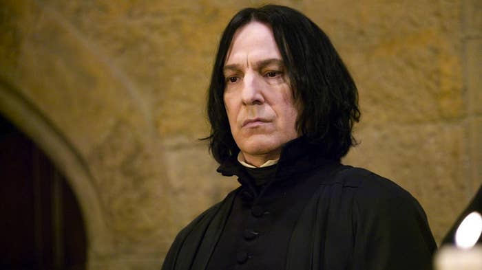Yes, he betrayed Voldemort to help the good guys, but only after he heard the Dark Lord was going to murder the woman he loved. Yes, he killed Dumbledore, but only because Dumbledore asked him to. THERE ARE LAYERS.