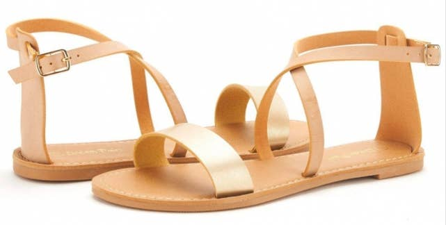 6bdf9a85791c Promising review   quot These sandals are gorgeous and so super comfy too.  Usually
