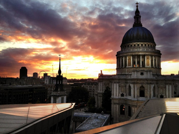 It's one of the best views in London that you don't have to pay for.