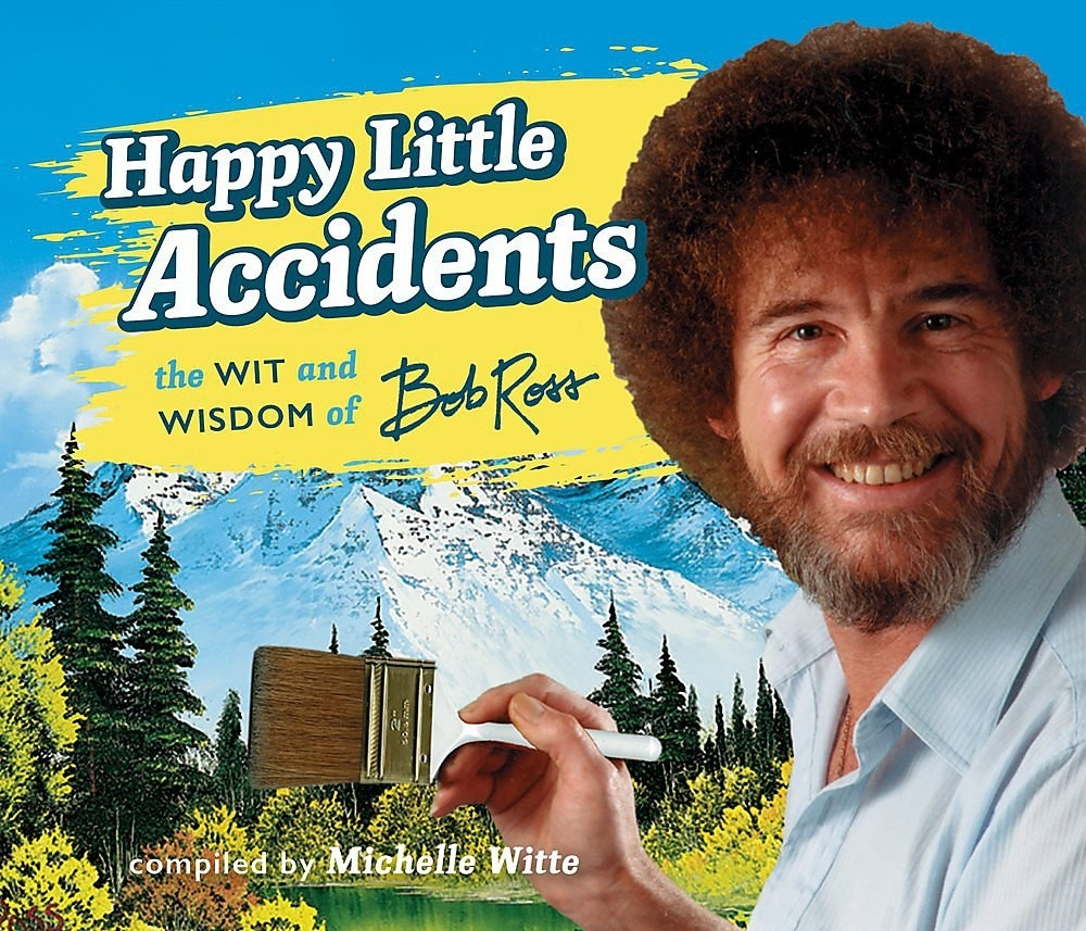 bob ross happy little accidents book