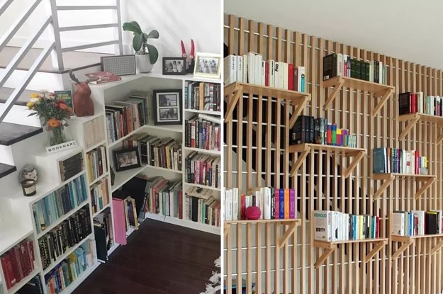17 Photos Of Beautiful Bookshelves That Will Make You Breathe Easy