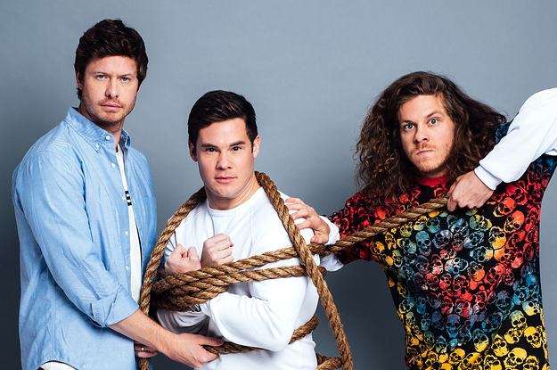 Adam Devine, Anders Holm, And Blake Anderson Take The BuzzFeed BFF Test