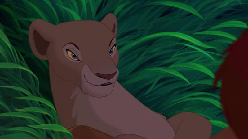 """Este olhar. Este olhar malandro que Nala jogou pra cima de Simba durante 'Can You Feel The Love Tonight.' Todos os adultos entenderam AQUELE olhar, e agora que cresci, conheço também. Ela quer namorar."" —eatsleepnetflixrepeat0311"