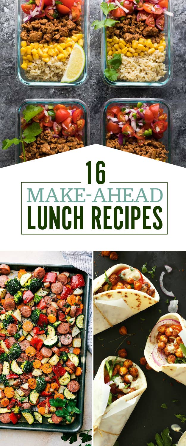16 make ahead lunch recipes that are perfect for bringing to work share on facebook share forumfinder Images