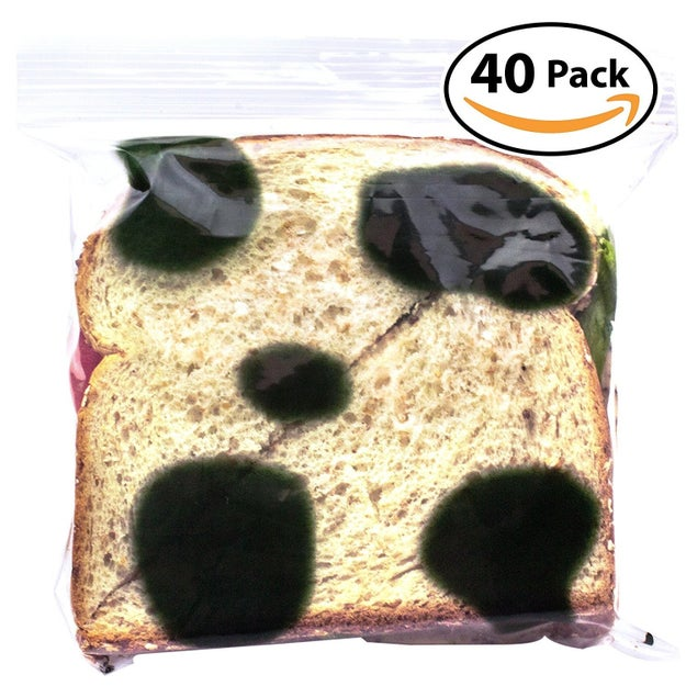 Use a moldy sandwich bag to pack your loved one's lunch.