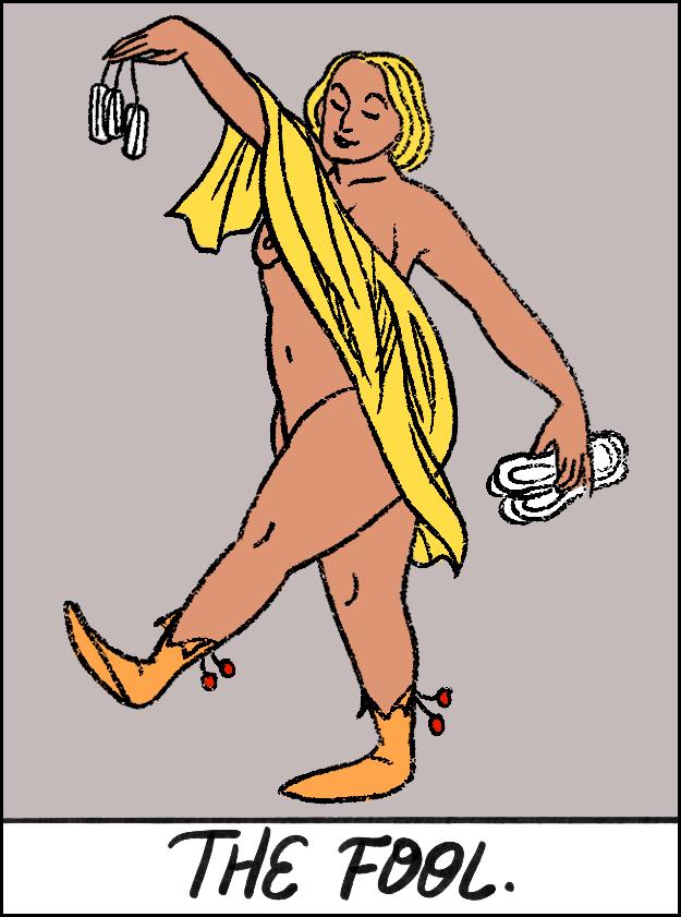 A Louca acha que não precisa acompanhar sua menstruação ou se preparar de qualquer forma para o que está por vir. Quando descer, desceu, e tudo bem se não tiver nenhum absorvente na bolsa! Afinal, talvez este mês o fluxo seja mais leve do que o normal!