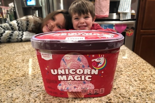 We Tried Target's New Unicorn Ice Cream And All We Can Say Is,