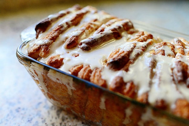 Use your rolling pin for this decadent pull-apart cinnamon bread recipe from The Pioneer Woman herself.