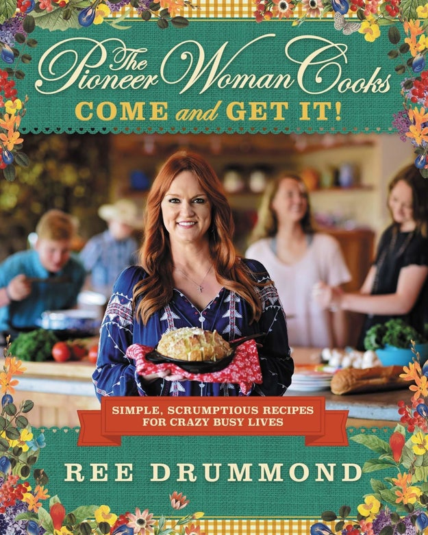 Find all the quick, easy recipes your heart could ever need in this Pioneer Woman cookbook for crazy busy lives.