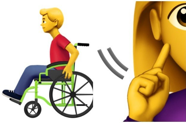 Apple Just Proposed 13 New Emojis With Disabilities
