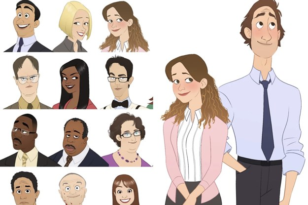 An Artist Animated The Office Characters And They Re All Truly Amazing