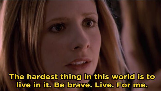 Buffy Summers from Buffy the Vampire Slayer