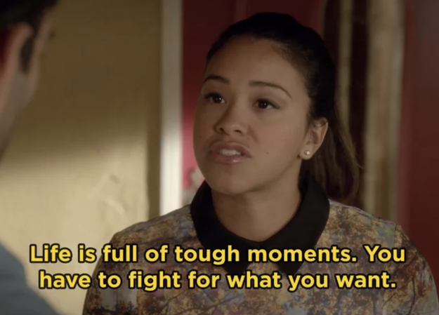 Jane Villanueva from Jane the Virgin