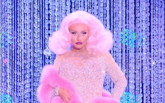 So, as you probably know by now, Christina Aguilera made a truly iconic appearance as a guest judge on the premiere of RuPaul's Drag Race Season 10 last night, as well as on Untucked.