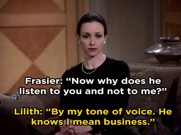 Lilith Sternin from Cheers and Frasier