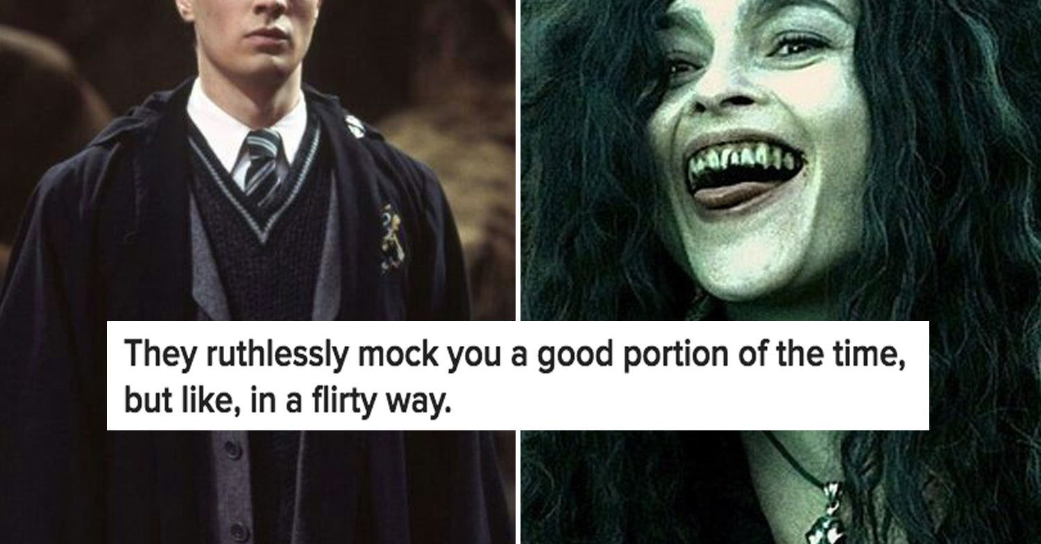 dating a slytherin