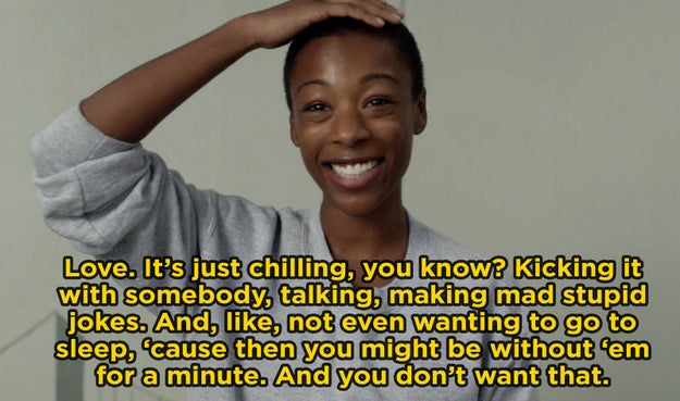 Poussey Washington from Orange Is the New Black