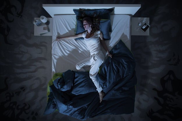 On average, you secrete 26 gallons of sweat into your bed per year.