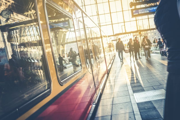 The air you breathe in a train station is 15% human skin.