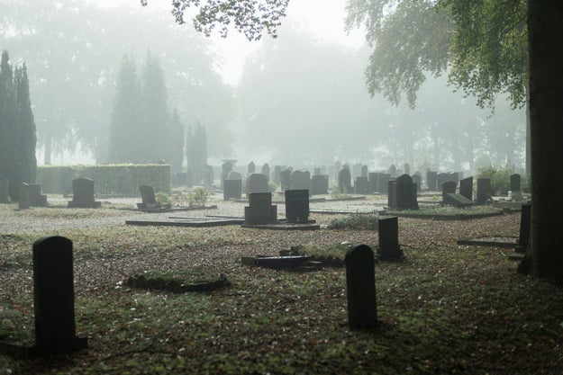 The dead outnumber the living 15 to 1.