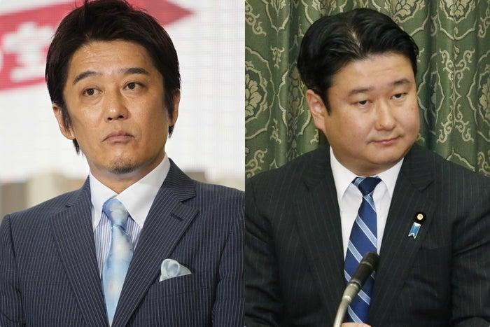 坂上さん(左)と和田議員
