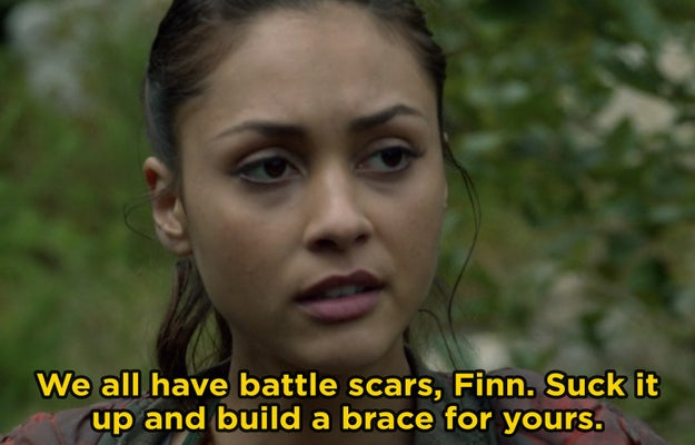 Raven Reyes from The 100