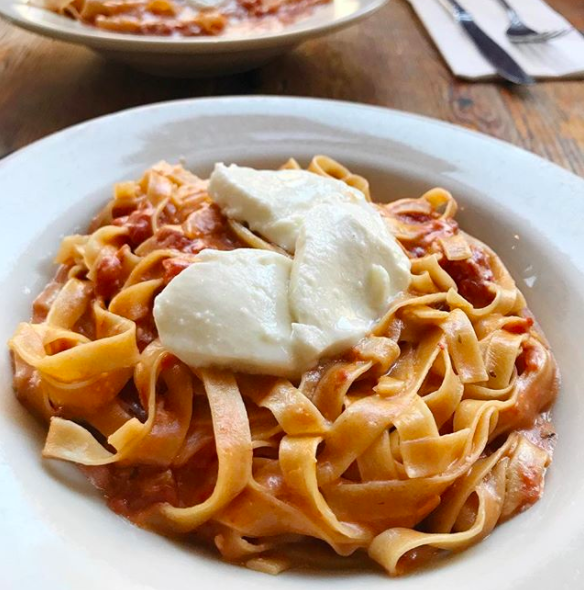 Maybe there's a neighborhood Italian restaurant where you can order homemade pasta for just a few bucks.