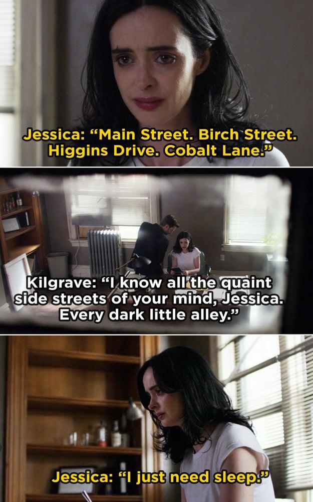 Jessica Jones from Jessica Jones