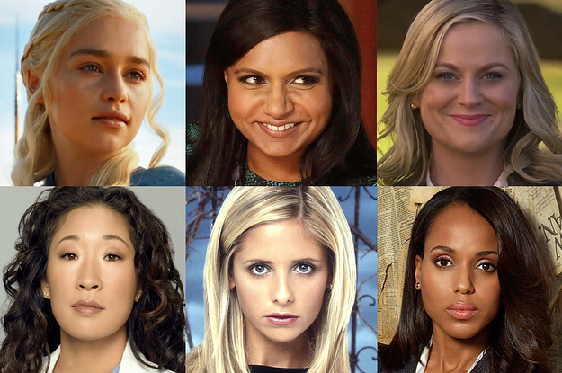 Which Female Tv Character Are You