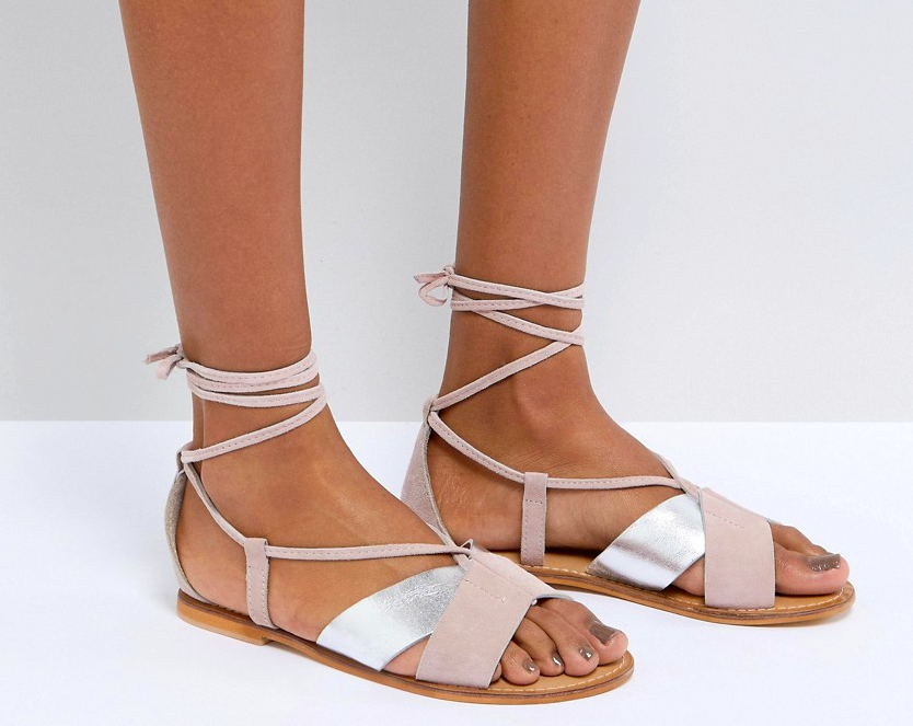 a7925615e855 And Asos — they have such a perfect sandal selection