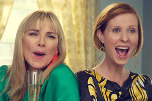 Kim Cattrall Tweeted About Cynthia Nixon Running For Governor And People Think She Threw Shade