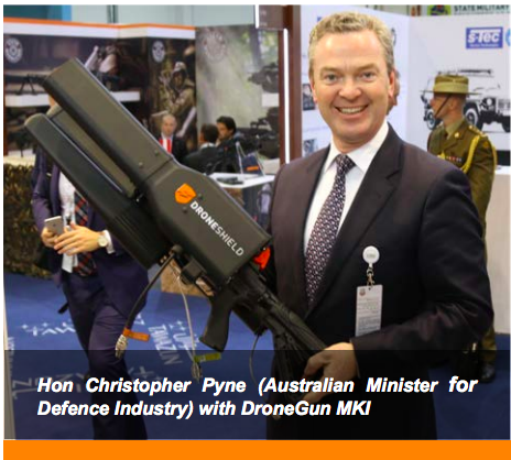Police Have Giant Drone Guns For The Commonwealth Games For Some Reason